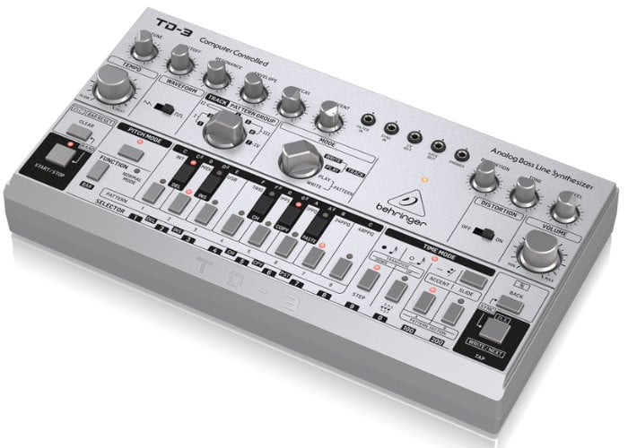 Behringer TD-3 analogue baseline synthesiser
