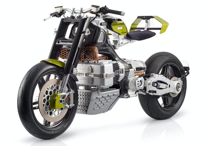 Blackstone HyperTek electric motorcycle