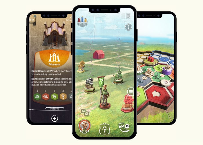 Catan AR game