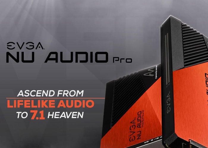 EVGA NU Audio Pro sound cards