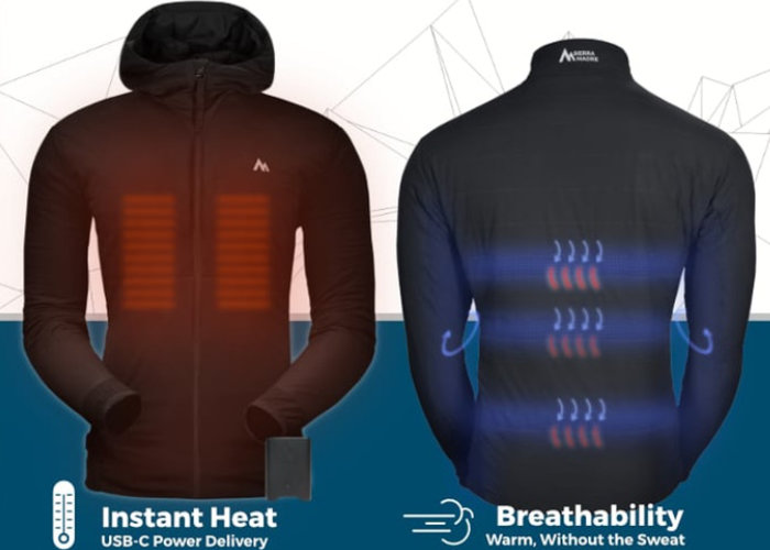 Ember heated jacket