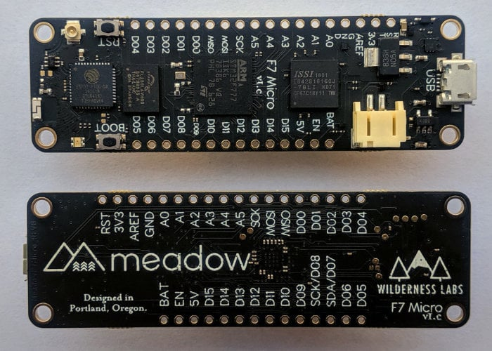 Feather Meadow F7 micro development kit