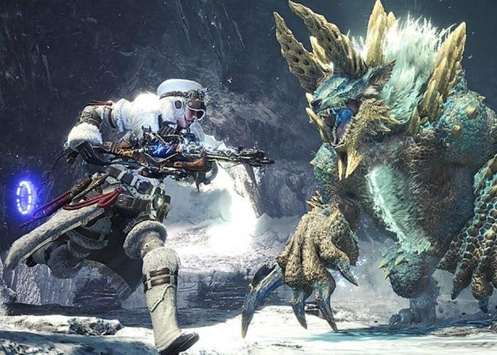 Horizon Zero Dawn Monster Hunter World crossover