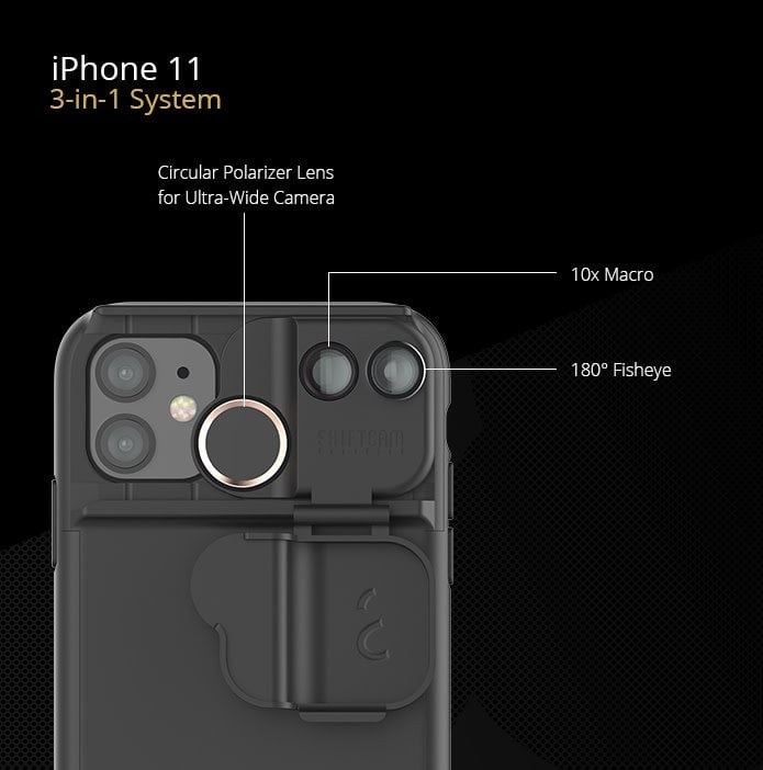 IPhone 11 camera lens
