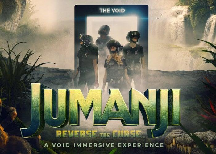 Jumanji VR experience