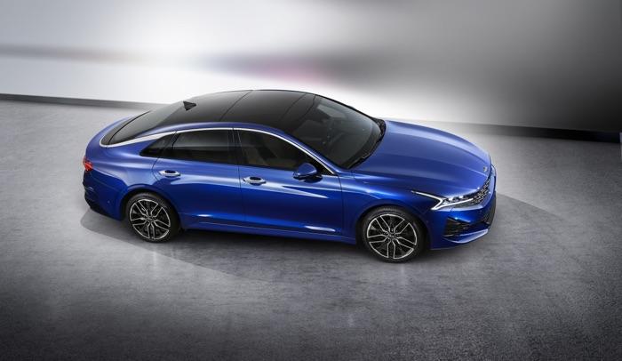 Kia K5 Fastback sedan revealed