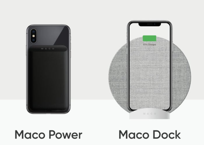 Maco battery packa nd wireless charger