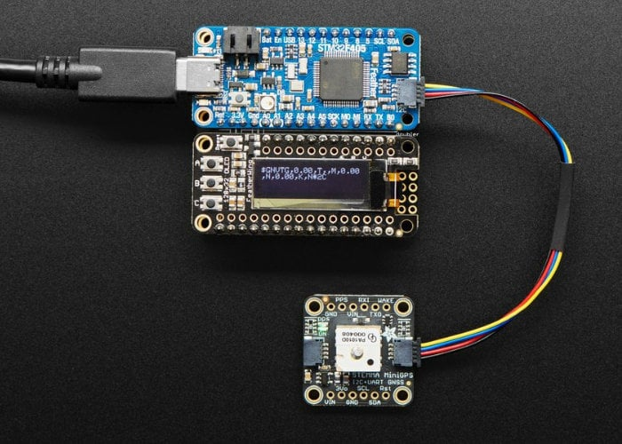 Miniature GPS breakout board