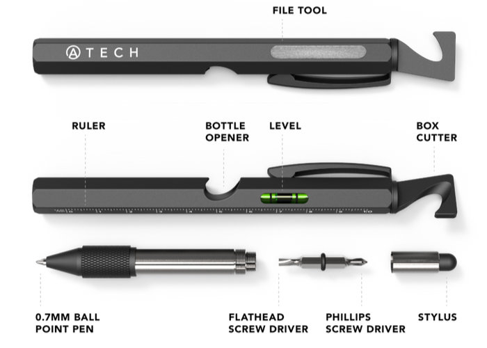 Multitool EDC pen