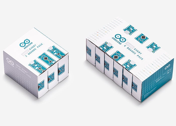 New Arduino Nano multipack now available from €23