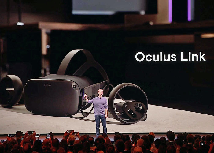 Oculus Link lets you play Rift games on Oculus Quest