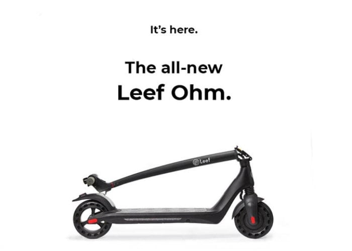 Ohm electric scooter
