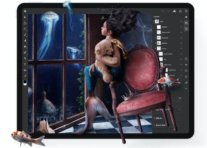 Photoshop on the iPad