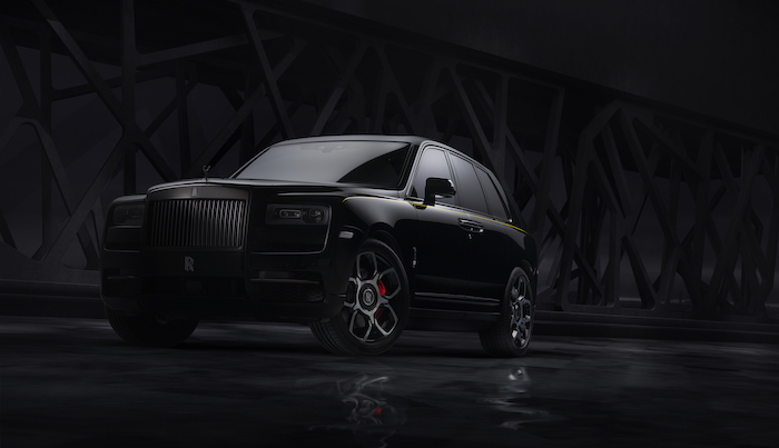 Rolls Royce Cullinan Black Back Edition