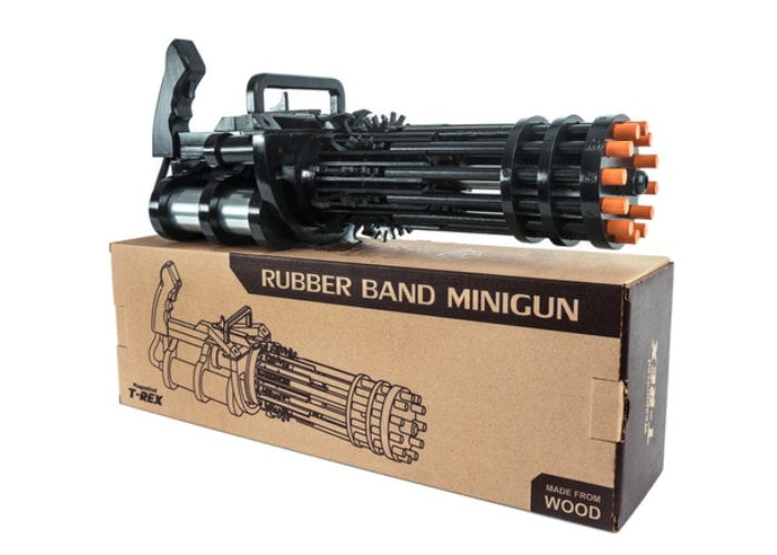 Rubberband minigun