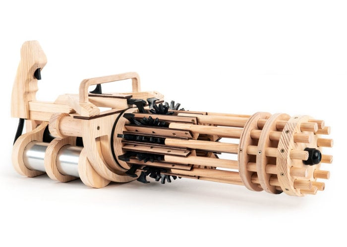 Rubber band mini gun
