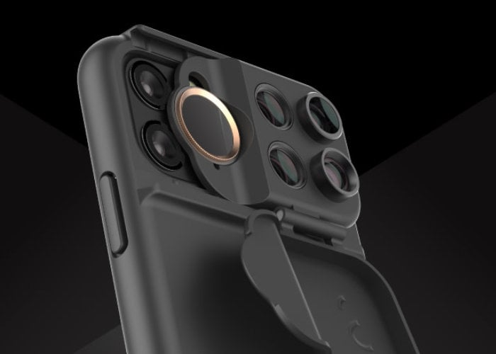 ShiftCam iPhone 11 camera lens system enhances your creative photography further