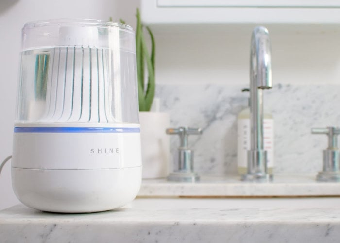 Shine automatically cleans your toilet