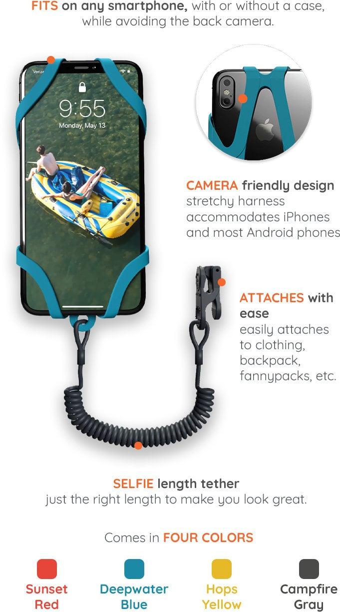 Smartphone harness
