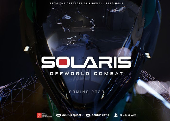 Solaris Offworld Combat arena VR shooter