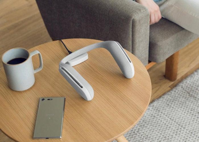 Sony wearable wireless speaker