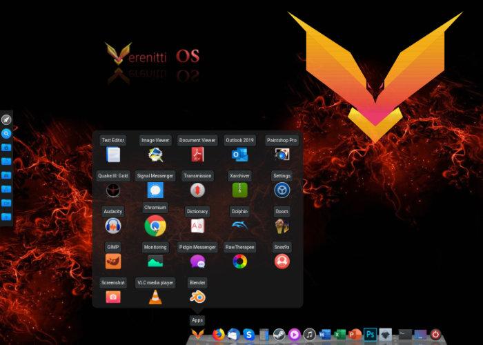 Verenitti Operating system