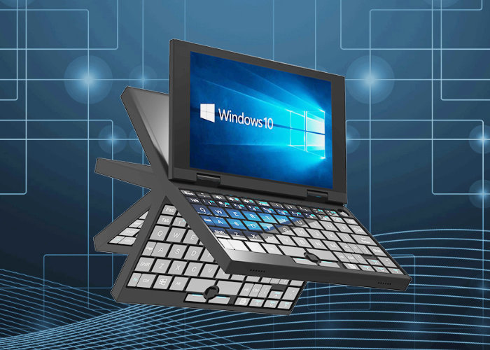 Windows 10 mini laptop