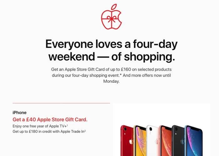 Apple Black Friday Deals in the United Kingdom are live