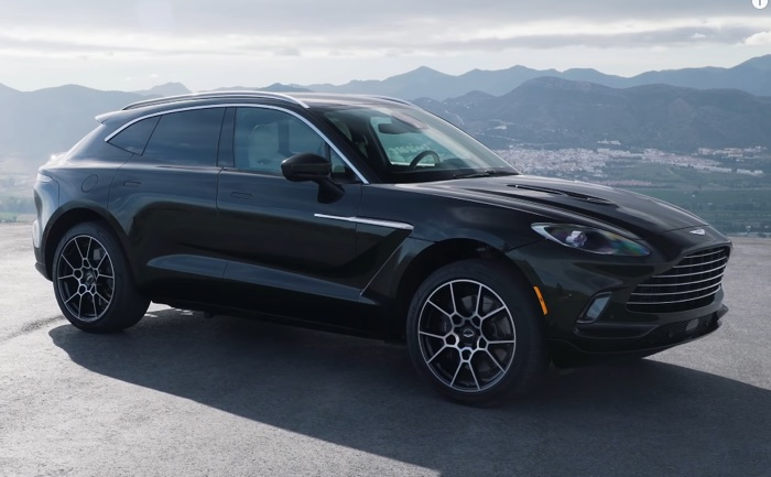Here is a good look at the Aston Martin DBX SUV (Video)
