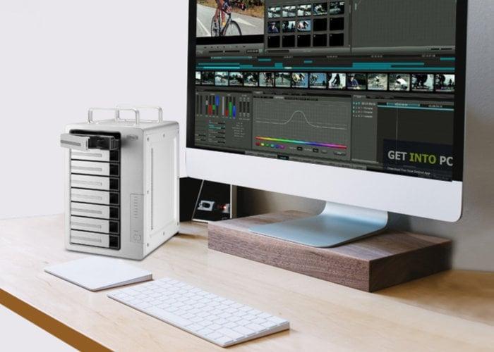 TerraMaster D8 Thunderbolt 3 desktop storage solution (DAS)