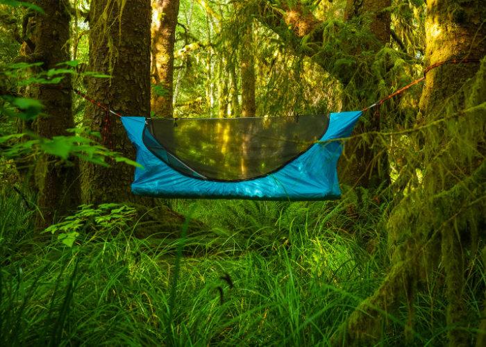 Haven lay flat lightweight hammock tent
