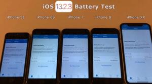 iOS 13.2.3 battery