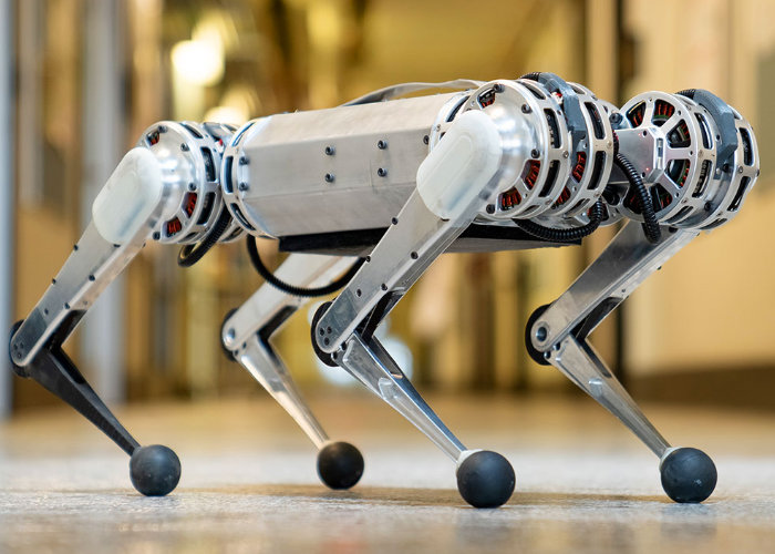 mini cheetah robots