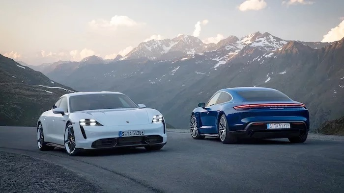 Porsche Taycan electric sports car gets a new promo video