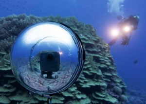 360bubble DEEP underwater camera housing