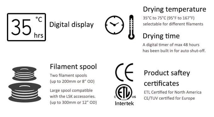 3D printing filament dryer-2