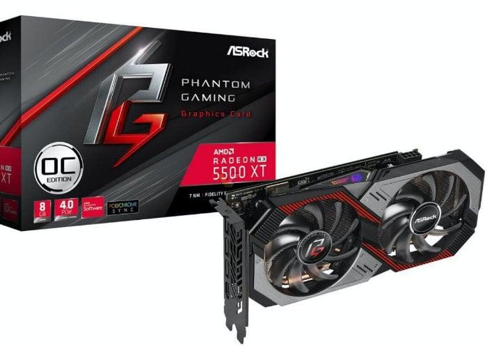 ASRock Radeon RX 5500 XT