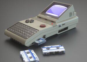 Commodore HX-64 retro handheld concept