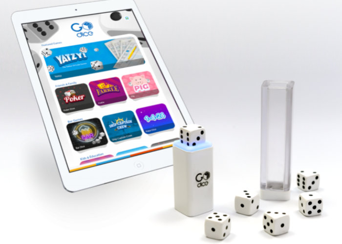 Connected dice