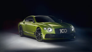 Limited edition Bentley Continental GT
