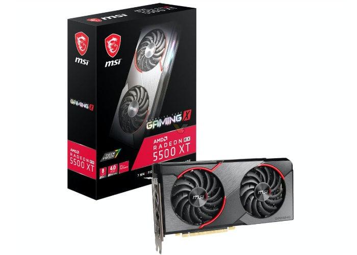 MSI Radeon RX 5500 XT
