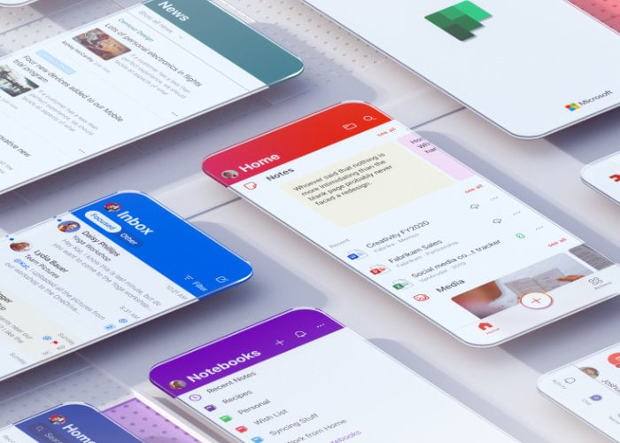 Microsoft Office Mobile apps redesigned