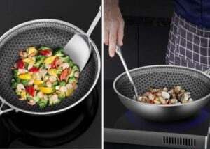 Nonstick-frying pan