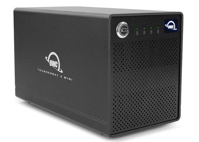 OWC ThunderBay 4 Mini DAS