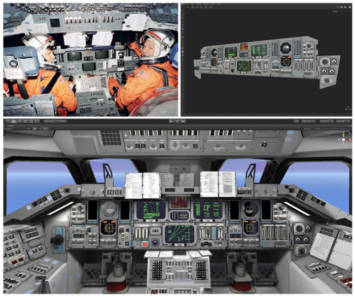 PSVR Shuttle Commander