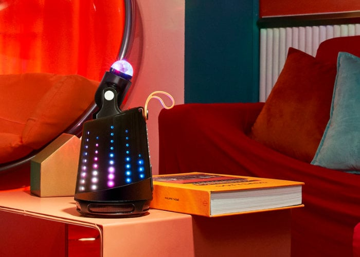 Partier Dancing portable Bluetooth speaker