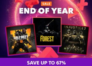 PlayStation End of Year Sale
