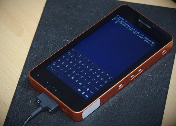 Proteus Linux handheld computer