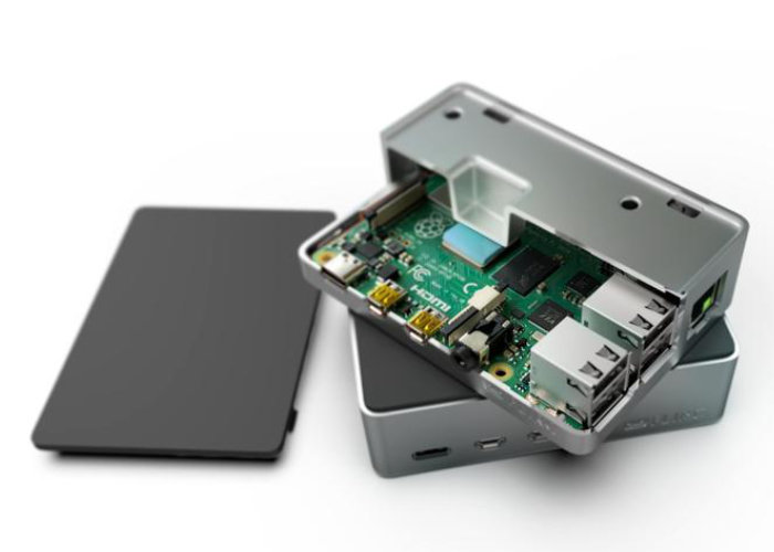 Raspberry Pi 4 Passive Cooling case