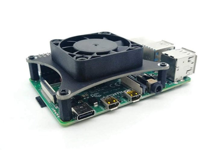 Raspberry Pi cooling fan $13 keeps your CPU temperature down
